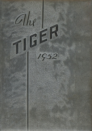 1952 Edition, Crossville High School - Tiger Yearbook (Crossville, IL)