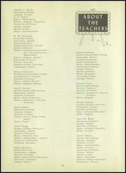 Page 16, 1952 Edition, Crossville High School - Tiger Yearbook (Crossville, IL) online yearbook collection