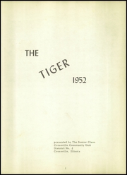 Page 5, 1952 Edition, Crossville High School - Tiger Yearbook (Crossville, IL) online yearbook collection