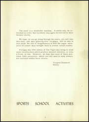 Page 7, 1952 Edition, Crossville High School - Tiger Yearbook (Crossville, IL) online yearbook collection