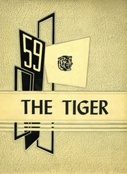 1959 Edition, Crossville High School - Tiger Yearbook (Crossville, IL)
