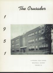 Page 5, 1951 Edition, Cathedral High School - Crusader Yearbook (Belleville, IL) online yearbook collection