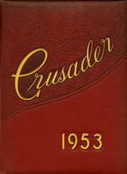 1953 Edition, Cathedral High School - Crusader Yearbook (Belleville, IL)