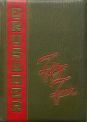 1954 Edition, Cathedral High School - Crusader Yearbook (Belleville, IL)