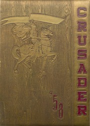 1958 Edition, Cathedral High School - Crusader Yearbook (Belleville, IL)
