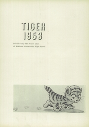 Page 5, 1953 Edition, Atkinson High School - Tiger Yearbook (Atkinson, IL) online yearbook collection