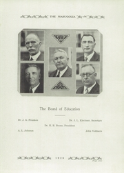 Page 13, 1929 Edition, Chandlerville High School - Marugolia Yearbook (Chandlerville, IL) online yearbook collection