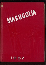 Chandlerville High School - Marugolia Yearbook (Chandlerville, IL) online yearbook collection, 1957 Edition, Page 1