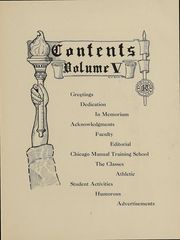 Page 10, 1908 Edition, University High School - U Highlights Yearbook (Chicago, IL) online yearbook collection
