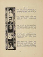 Page 15, 1908 Edition, University High School - U Highlights Yearbook (Chicago, IL) online yearbook collection