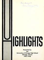 Page 5, 1958 Edition, University High School - U Highlights Yearbook (Chicago, IL) online yearbook collection