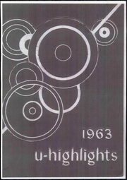 1963 Edition, University High School - U Highlights Yearbook (Chicago, IL)