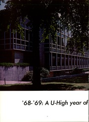 Page 6, 1969 Edition, University High School - U Highlights Yearbook (Chicago, IL) online yearbook collection