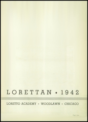 Page 5, 1942 Edition, Loretto High School - Lorettan Yearbook (Chicago, IL) online yearbook collection
