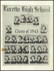 Page 13, 1943 Edition, Loretto High School - Lorettan Yearbook (Chicago, IL) online yearbook collection
