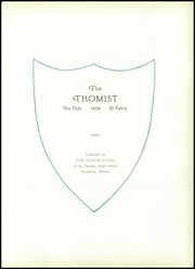 Page 7, 1928 Edition, St Thomas High School - Thomist Yearbook (Rockford, IL) online yearbook collection