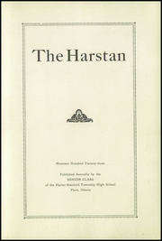 Page 5, 1923 Edition, Harter Stanford Township High School - Harstan Yearbook (Flora, IL) online yearbook collection