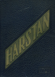 1940 Edition, Harter Stanford Township High School - Harstan Yearbook (Flora, IL)
