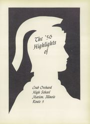 Page 5, 1956 Edition, Crab Orchard High School - Trojan Yearbook (Crab Orchard, IL) online yearbook collection