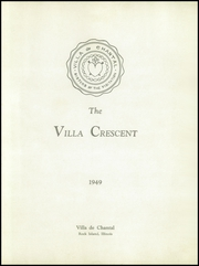 Page 5, 1949 Edition, Villa De Chantal High School - Crescent Yearbook (Rock Island, IL) online yearbook collection