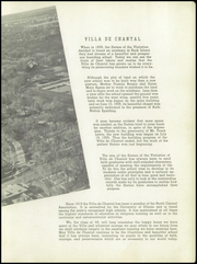 Page 7, 1949 Edition, Villa De Chantal High School - Crescent Yearbook (Rock Island, IL) online yearbook collection