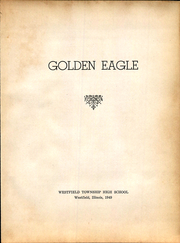 Page 7, 1949 Edition, Westfield High School - Golden Eagle Yearbook (Westfield, IL) online yearbook collection