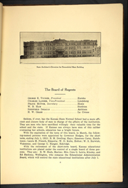Page 13, 1913 Edition, Emporia State University - Sunflower Yearbook (Emporia, KS) online yearbook collection