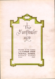 Page 4, 1920 Edition, Emporia State University - Sunflower Yearbook (Emporia, KS) online yearbook collection