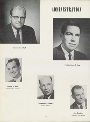 Page 16, 1955 Edition, Emporia State University - Sunflower Yearbook (Emporia, KS) online yearbook collection