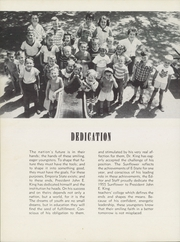 Page 8, 1955 Edition, Emporia State University - Sunflower Yearbook (Emporia, KS) online yearbook collection