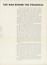 Page 15, 1956 Edition, Emporia State University - Sunflower Yearbook (Emporia, KS) online yearbook collection