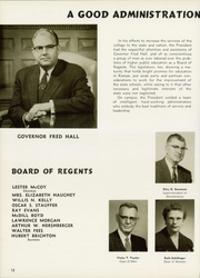 Page 16, 1956 Edition, Emporia State University - Sunflower Yearbook (Emporia, KS) online yearbook collection