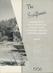 Page 7, 1956 Edition, Emporia State University - Sunflower Yearbook (Emporia, KS) online yearbook collection