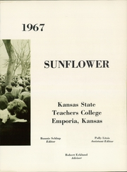 Page 7, 1967 Edition, Emporia State University - Sunflower Yearbook (Emporia, KS) online yearbook collection