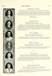 Page 17, 1910 Edition, Goshen High School - Crimson Yearbook (Goshen, IN) online yearbook collection