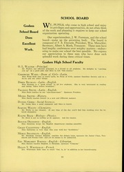 Page 14, 1934 Edition, Goshen High School - Crimson Yearbook (Goshen, IN) online yearbook collection
