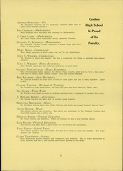 Page 15, 1934 Edition, Goshen High School - Crimson Yearbook (Goshen, IN) online yearbook collection