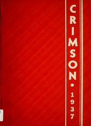 Page 1, 1937 Edition, Goshen High School - Crimson Yearbook (Goshen, IN) online yearbook collection
