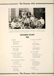 Page 16, 1942 Edition, Goshen High School - Crimson Yearbook (Goshen, IN) online yearbook collection