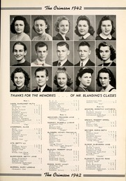 Page 17, 1942 Edition, Goshen High School - Crimson Yearbook (Goshen, IN) online yearbook collection