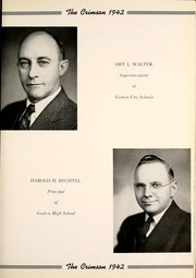 Page 9, 1942 Edition, Goshen High School - Crimson Yearbook (Goshen, IN) online yearbook collection