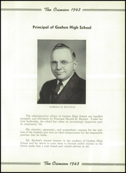 Page 13, 1943 Edition, Goshen High School - Crimson Yearbook (Goshen, IN) online yearbook collection