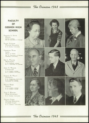 Page 16, 1943 Edition, Goshen High School - Crimson Yearbook (Goshen, IN) online yearbook collection