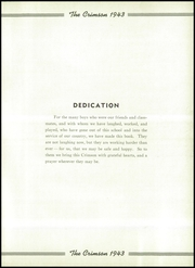 Page 9, 1943 Edition, Goshen High School - Crimson Yearbook (Goshen, IN) online yearbook collection