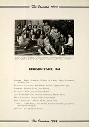Page 16, 1944 Edition, Goshen High School - Crimson Yearbook (Goshen, IN) online yearbook collection