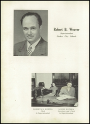 Page 16, 1949 Edition, Goshen High School - Crimson Yearbook (Goshen, IN) online yearbook collection
