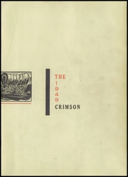 Page 3, 1949 Edition, Goshen High School - Crimson Yearbook (Goshen, IN) online yearbook collection