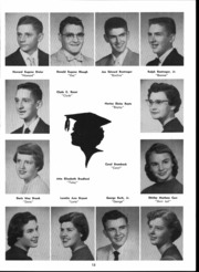 Page 17, 1956 Edition, Goshen High School - Crimson Yearbook (Goshen, IN) online yearbook collection