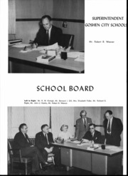 Page 8, 1956 Edition, Goshen High School - Crimson Yearbook (Goshen, IN) online yearbook collection