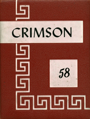 Page 1, 1958 Edition, Goshen High School - Crimson Yearbook (Goshen, IN) online yearbook collection